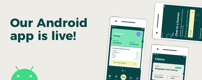Pluto Android app is live